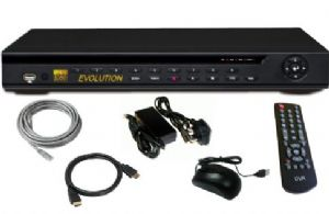 16 channel dvr recorder, h.264 with remote access
